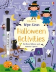 Wipe-Clean Halloween Activities - Book
