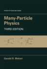 Many-Particle Physics - eBook