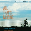 All That's Missing - eAudiobook