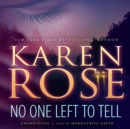No One Left to Tell - eAudiobook