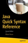 Java Quick Syntax Reference - Book