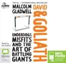 David and Goliath : Underdogs, Misfits and Art of Battling Giants - Book