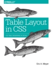 Table Layout in CSS : CSS Table Rendering in Detail - Book