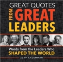 2019 Great Quotes from Great Leaders Boxed Calendar - Book