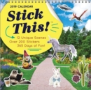 2019 Stick This!(tm) Wall Calendar : Over 200 Stickers to Create a Calendar That's Uniquely You! - Book