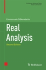 Real Analysis - eBook