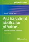 Post-Translational Modification of Proteins : Tools for Functional Proteomics - Book