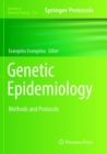 Genetic Epidemiology : Methods and Protocols - Book