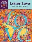 Hello Angel Letter Love Coloring Collection - Book
