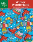 Hello Angel Winter Wonderland Coloring Collection - Book