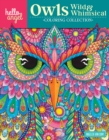 Hello Angel Owls Wild & Whimsical Coloring Collection - Book