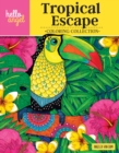 Hello Angel Tropical Escape Coloring Collection - Book