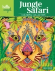 Hello Angel Jungle Safari Coloring Collection - Book