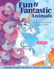 Hello Angel Fun & Fantastic Animals Adult Coloring Collection - Book