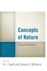 Concepts of Nature : Ancient and Modern - Book