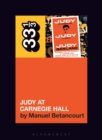 Judy Garland's Judy at Carnegie Hall - Book