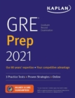 GRE Prep 2021 : 2 Practice Tests + Proven Strategies + Online - Book