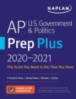 AP U.S. Government & Politics Prep Plus 2021 & 2022 : 3 Practice Tests + Study Plans + Targeted Review & Practice + Online - Book