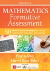 Mathematics Formative Assessment, Volume 2 : 50 More Practical Strategies for Linking Assessment, Instruction, and Learning - Book