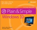 Windows 10 Plain & Simple - Book