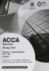 ACCA Taxation FA2019 : Study Text - Book