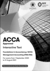 FIA Foundations in Management Accounting FMA (ACCA F2) : Interactive Text - Book