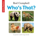 Who's That? - Book