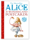 The Macmillan Alice Postcard Book - Book
