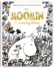 The Moomin Colouring Diary - Book