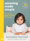 Weaning Made Simple - Book