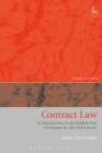 Contract Law : An Introduction to the English Law of Contract for the Civil Lawyer - eBook