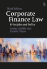 Corporate Finance Law : Principles and Policy - Book
