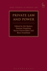 Private Law and Power - Book