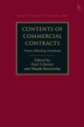 Contents of Commercial Contracts : Terms Affecting Freedoms - Book