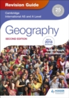 Cambridge International AS/A Level Geography Revision Guide 2nd edition - Book
