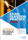 OCR GCSE (9-1) Religious Studies: Exam Question Practice Pack - Book