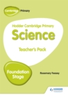 Hodder Cambridge Primary Science Teacher's Pack Foundation Stage - Book