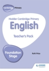 Hodder Cambridge Primary English Teacher's Pack Foundation Stage - Book
