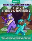 Math for Minecrafters: Adventures in Addition & Subtraction - Book