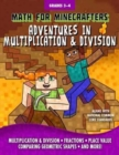 Math for Minecrafters: Adventures in Multiplication & Division - Book