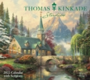 Thomas Kinkade Studios 2022 Deluxe Wall Calendar with Scripture - Book