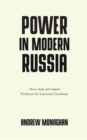 Power in Modern Russia : Strategy and Mobilisation - Book