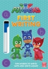PJ Masks: First Writing Wipe Clean : Get ready to write with the PJ Masks! - Book