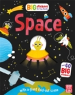 Big Stickers for Tiny Hands: Space : With scenes, activities and a giant fold-out picture - Book