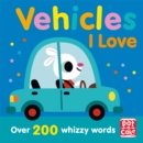 Talking Toddlers: Vehicles I Love - Book