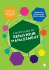 A Quick Guide to Behaviour Management - Book