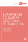 Supervising to Inspire Doctoral Researchers - Book