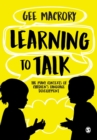 Learning to Talk : The many contexts of children's language development - Book
