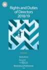 Rights and Duties of Directors 2018/19 - Book