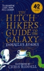 The Hitchhiker's Guide to the Galaxy Illustrated edition - Book